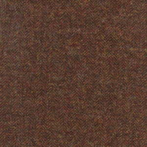 CHE113 - Cheviot Mocha Redstart - Highland Cheviot Tweed Waistcoats