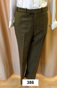Waterproof Tweed Trousers - 386
