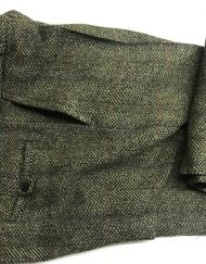 Estate Tweed Trousers - Dark Moss 3310W A01