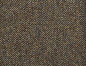 PS370-2002-43 Forest Mix Shetland Tweed Trousers