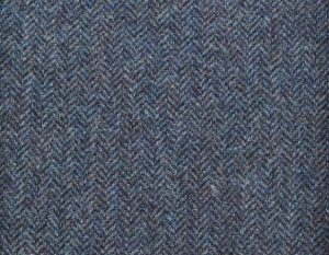 PS370-2002-51 Insignia Blue Shetland Tweed Trousers
