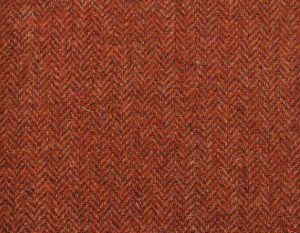 PS370-2002-54 Burnt Orange Shetland Tweed Trousers