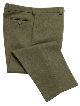 Mens-Highland-Cheviot-Tweed-Trousers